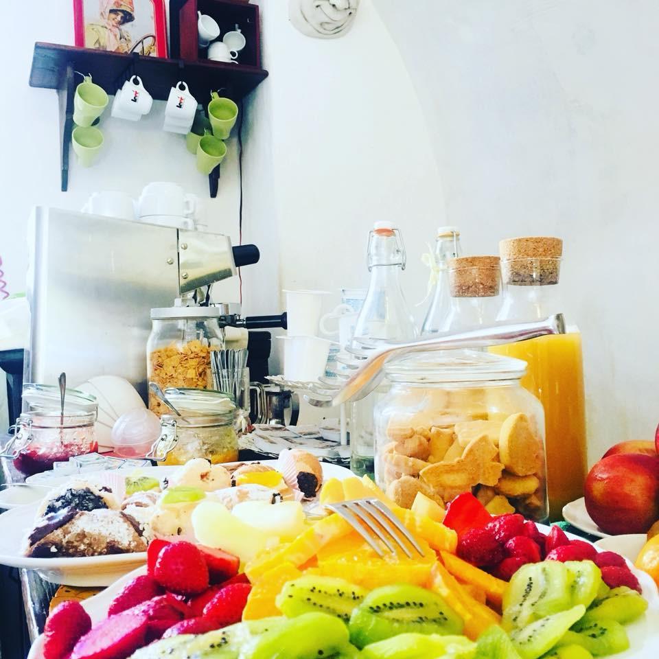 La colazione di AGRITURISMO BAGLIO POLLICARINI