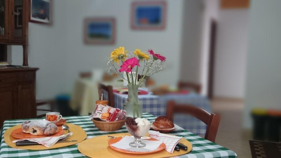 La colazione di GALATEA