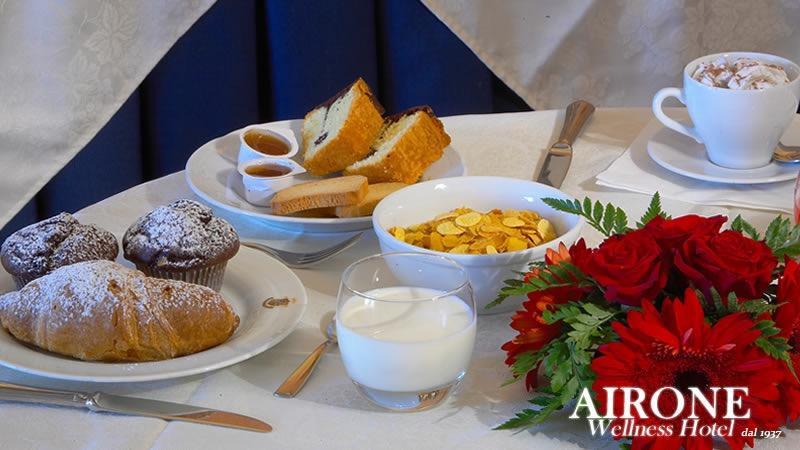 La colazione di HOTEL AIRONE