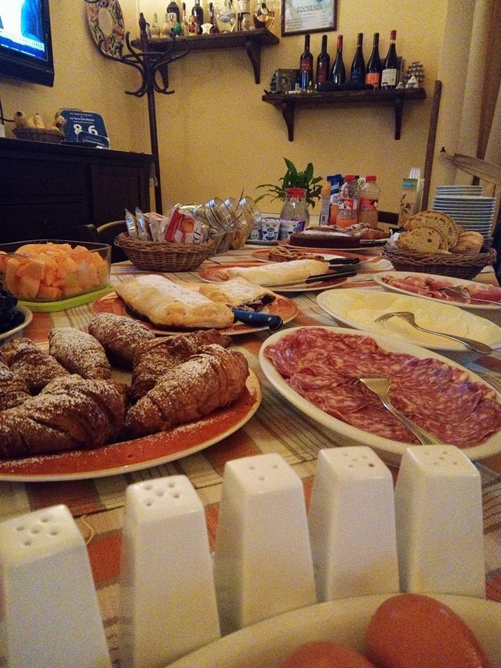 La colazione di LA TERRA DEL MEZZO TURISMO RURALE