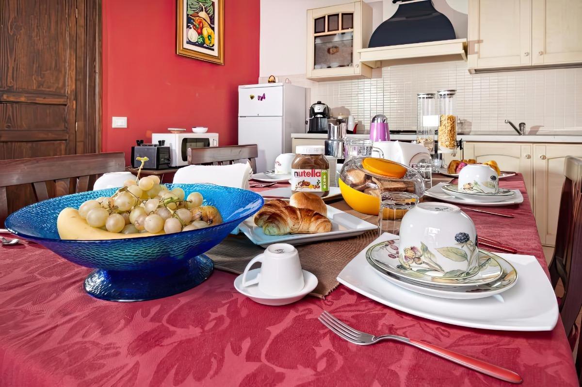La colazione di CASA DEGLI ARTISTI ***