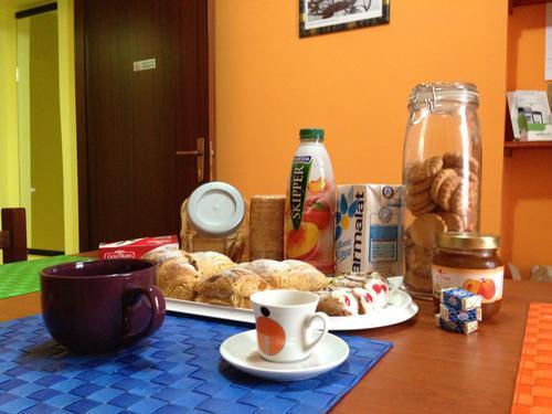 La colazione di B&B TRANQUILLO