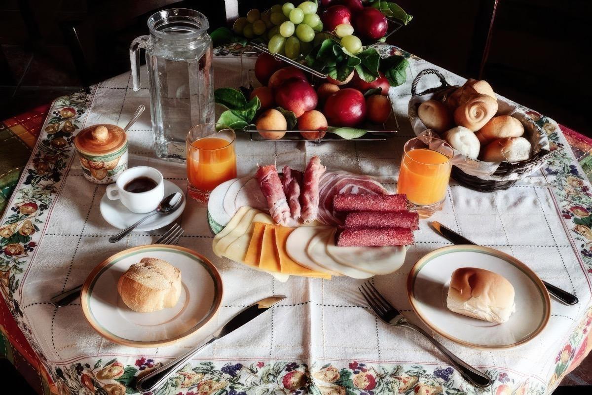 La colazione di VILLA GIUSY