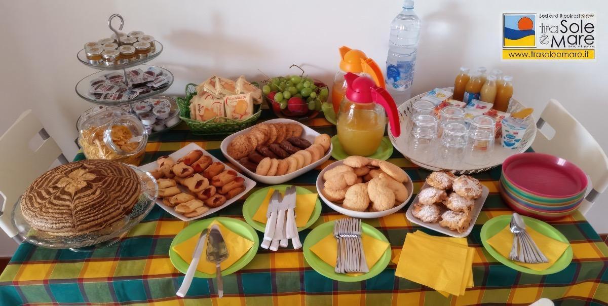 La colazione di TRA SOLE E MARE
