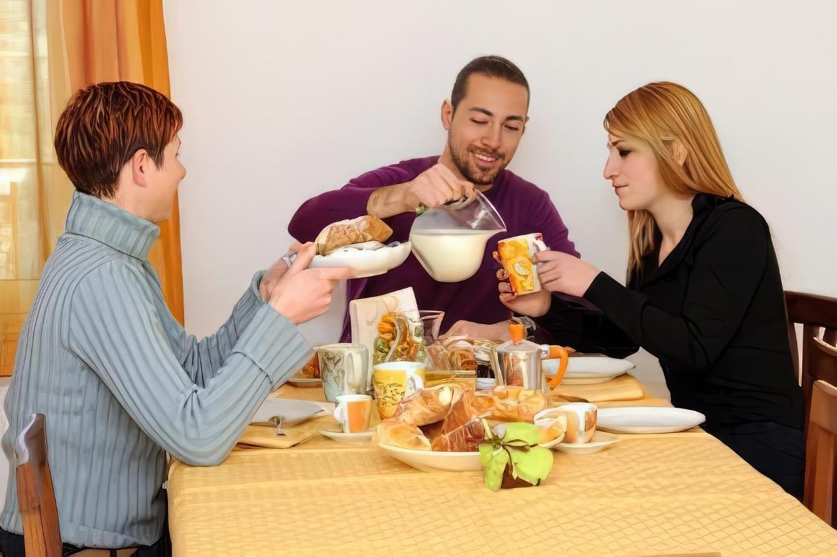 La colazione di SICILY BIKE