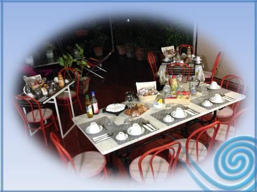 La colazione di B&B LA TERRAZZA SUL MARE ***