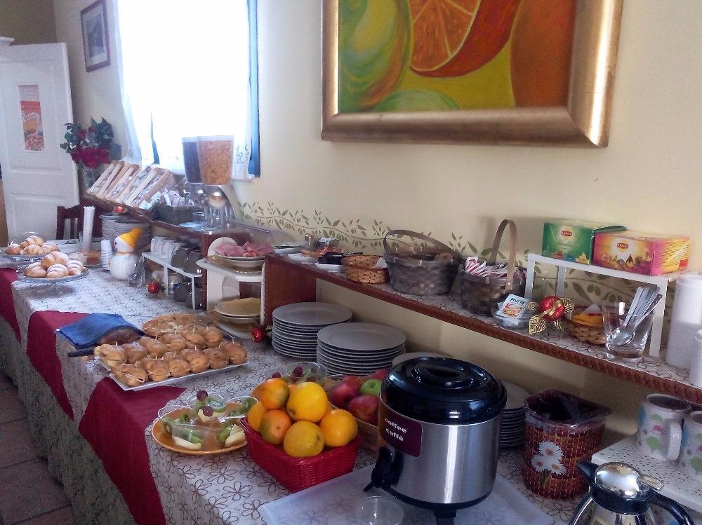 La colazione di AL PALMENTO CRUILLAS