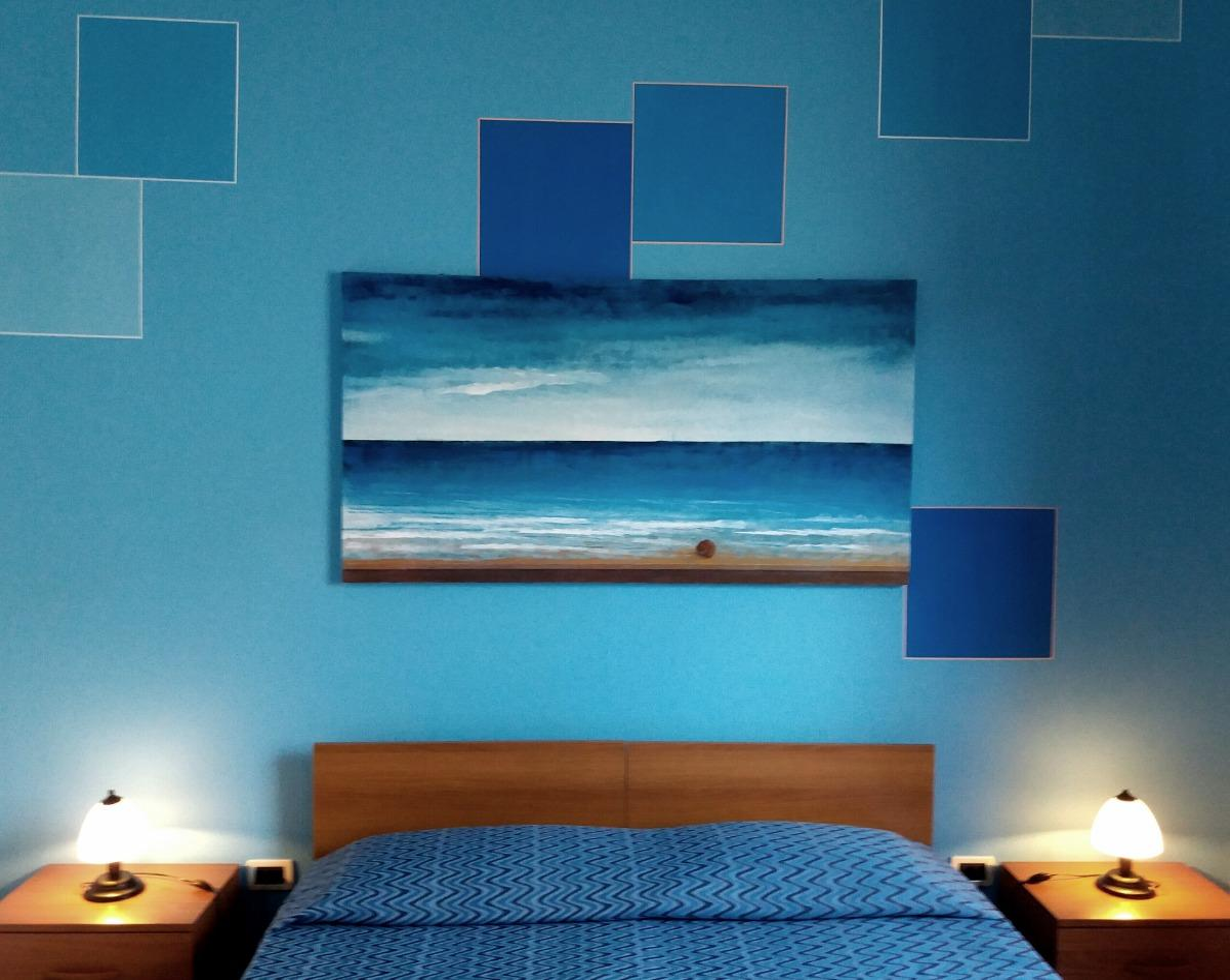 Camera doppia azzurra 4