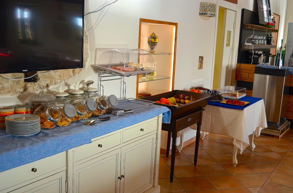 La colazione di AL TRAMONTO