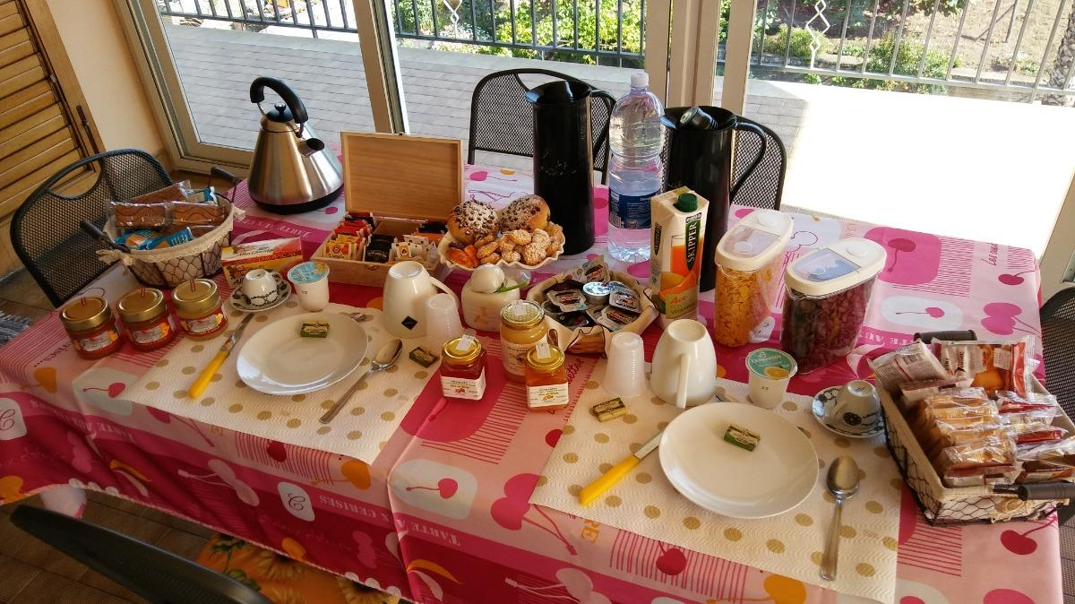 La colazione di LE TRE ROSE DELL'ETNA