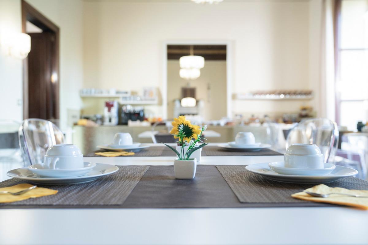 La colazione di ETNA SUITE ROOMS
