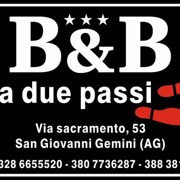 b&b a due passi