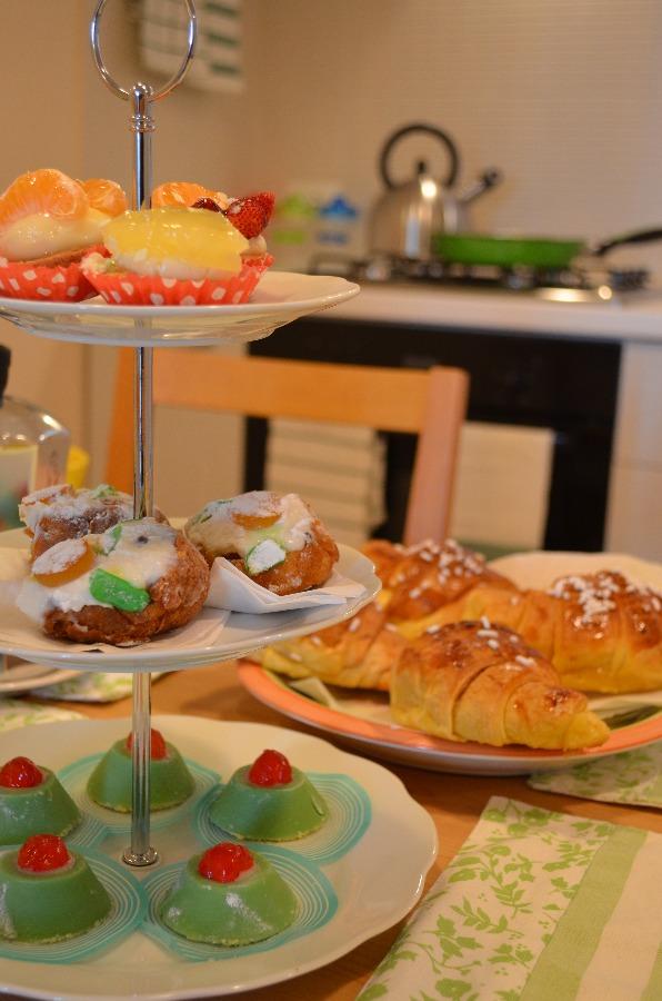 La colazione di SANGIOVANNI&ILMARE ROOMS WITH A VIEW