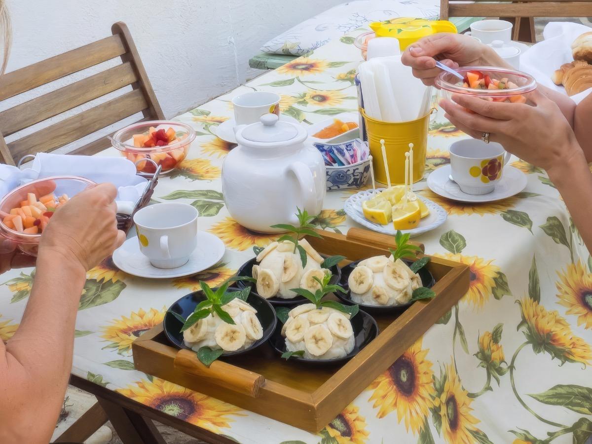 La colazione di B&B LE MACINE 1868