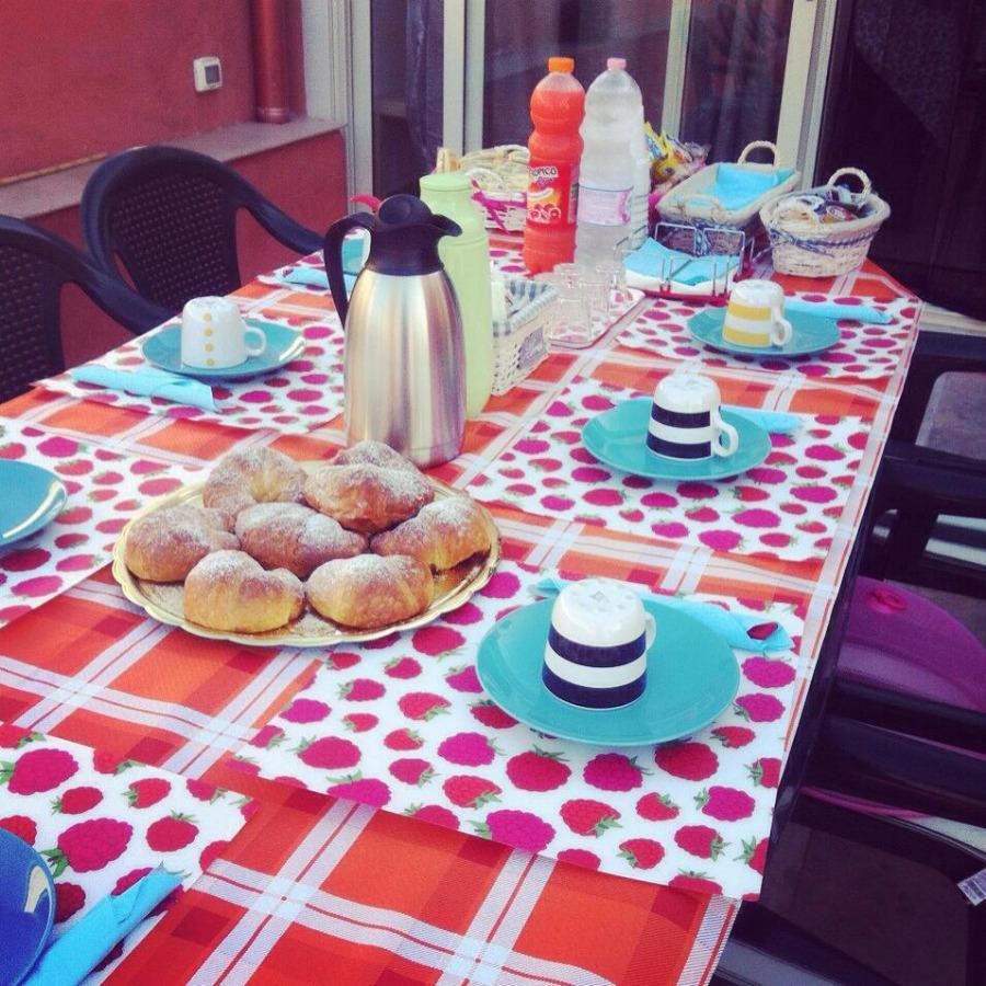 La colazione di B&B DA ROSY E GIUSE