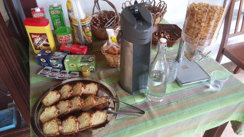 La colazione di IL MANDORLETO