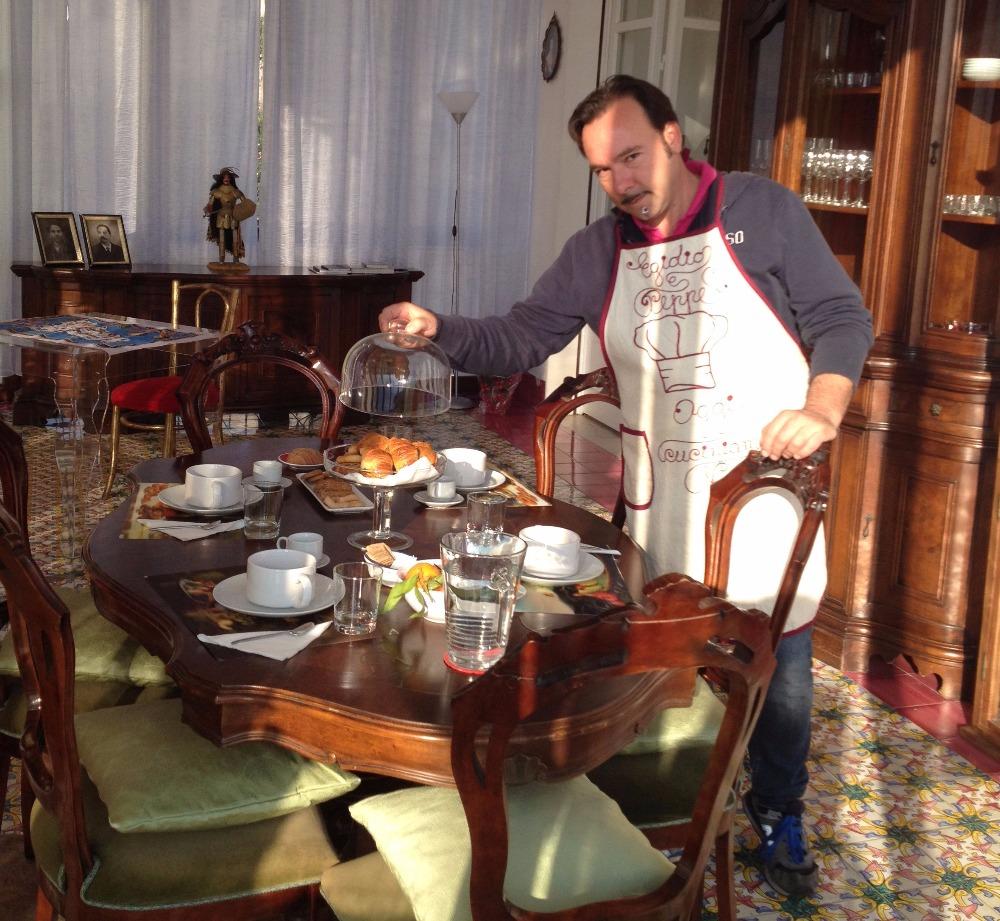 La colazione di PUPI CATANIA ETNA B&B