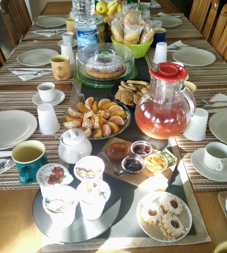 La colazione di B&B BED A CATANIA