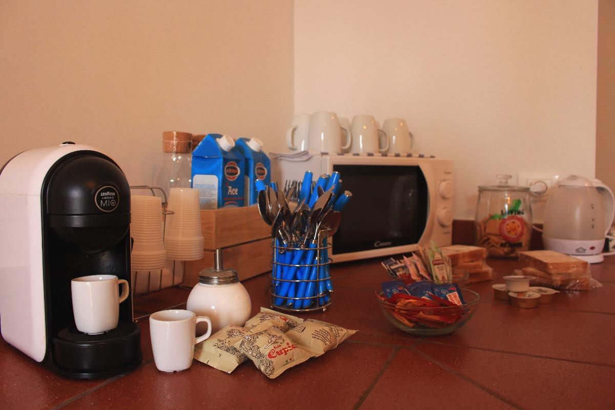 La colazione di LE SORGENTI DEL PAPIRETO