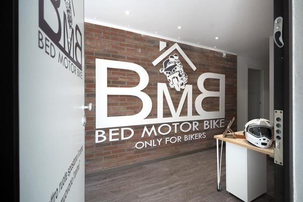BMB Bed Motor Bike per Motociclisti e Non Solo
