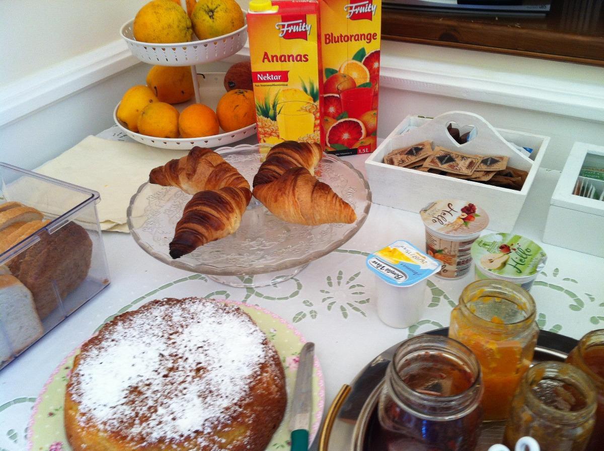 La colazione di IL GIARDINO SEGRETO B&B