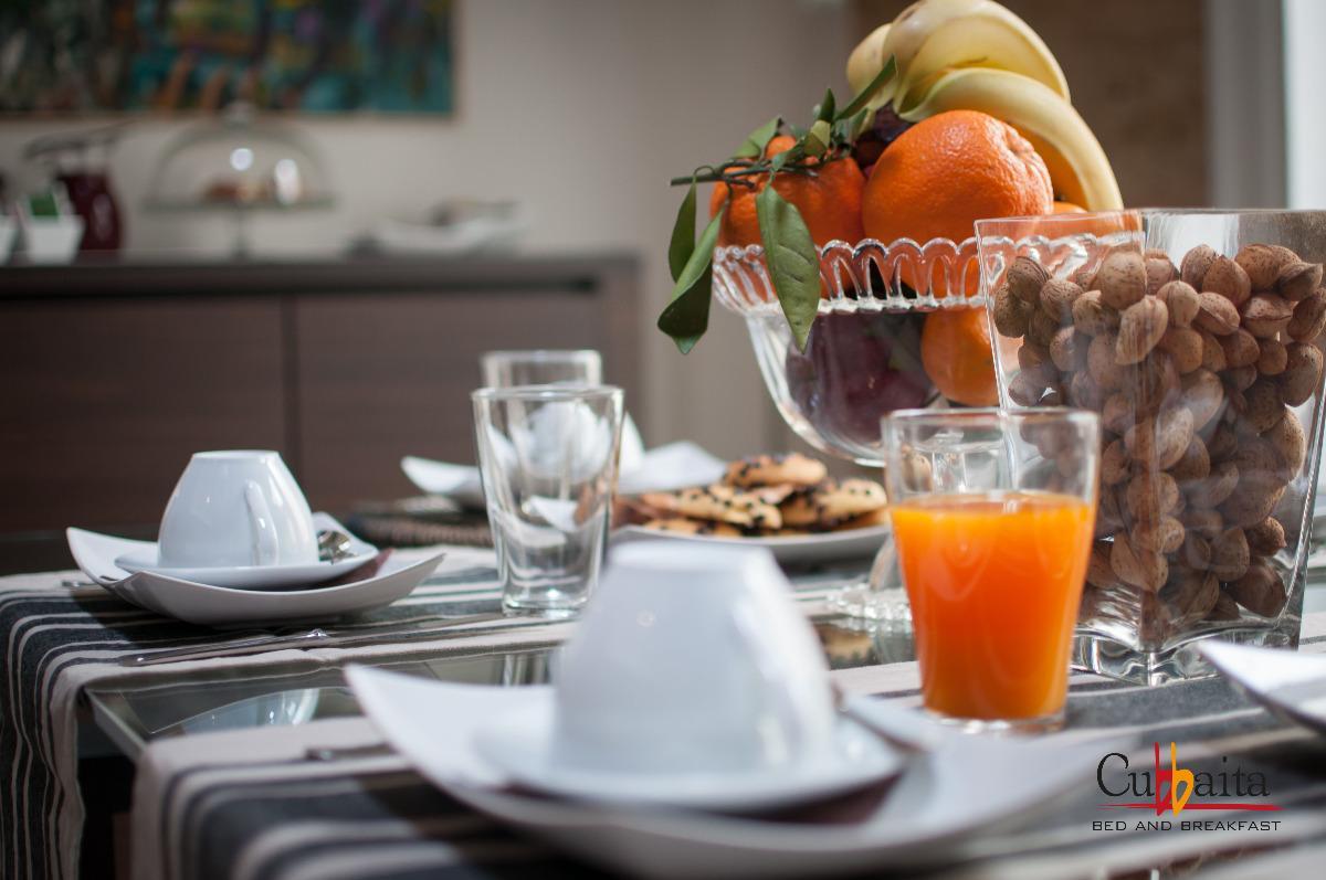 La colazione di B&B CUBBAITA