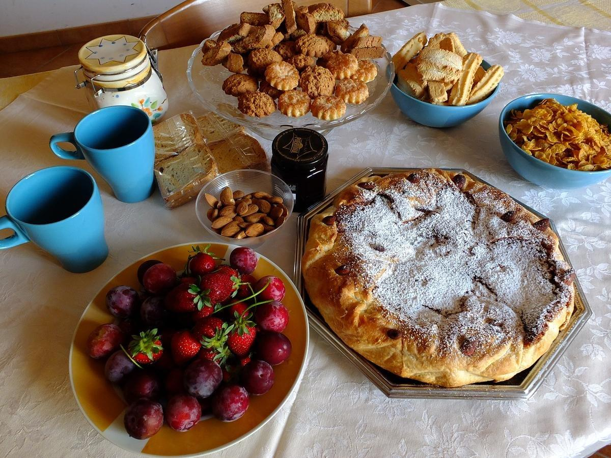 La colazione di CIRIGA SICILY GLAMPING
