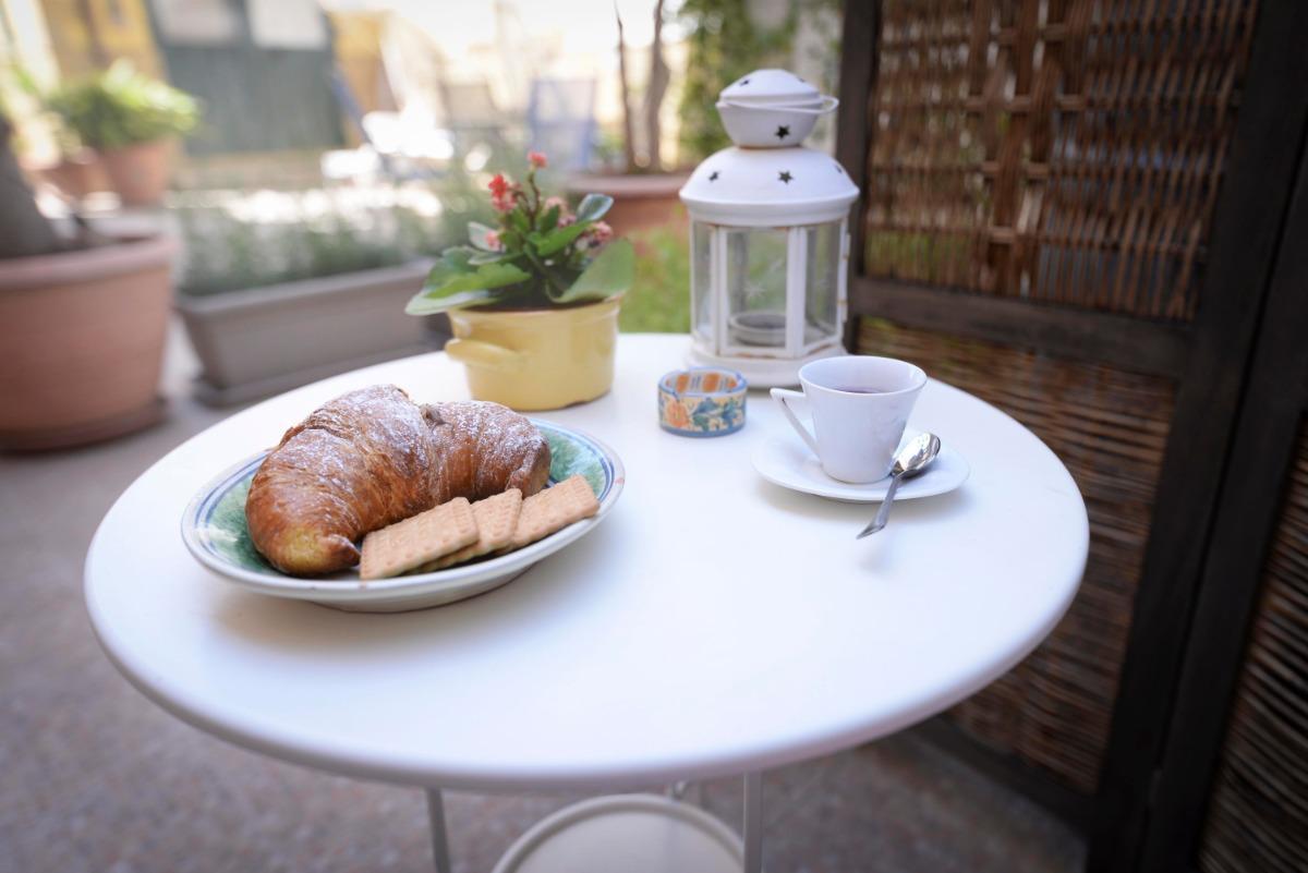 La colazione di CASA VACANZE ANDROMACA