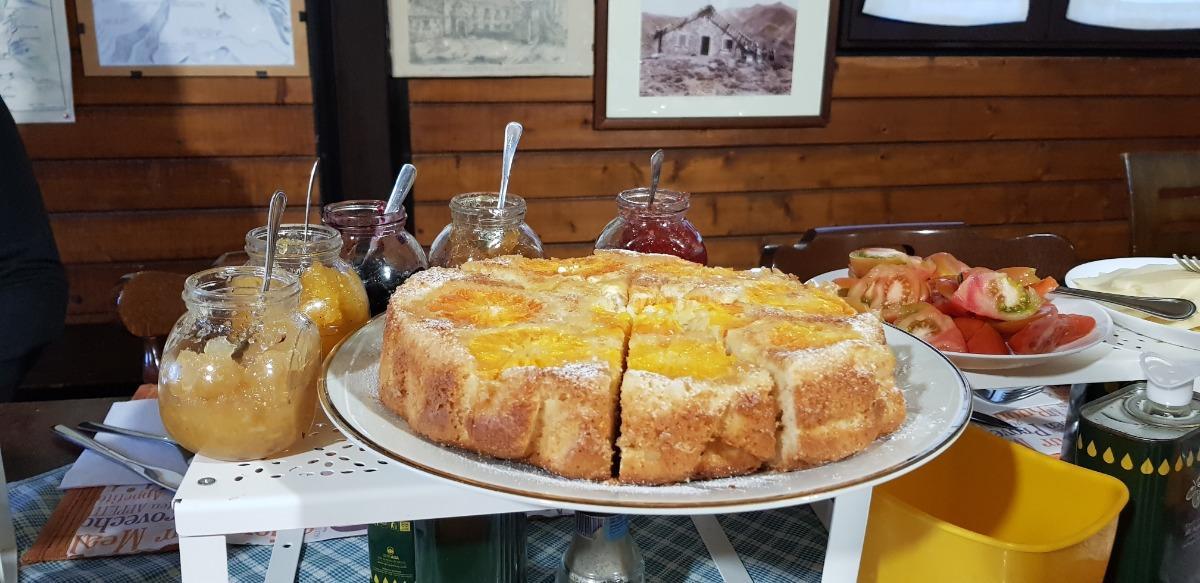 La colazione di SOTTO IL VULCANO