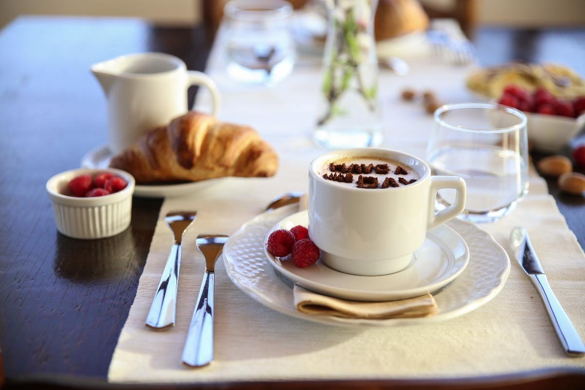 La colazione di B&B EYEXEI DOMUS
