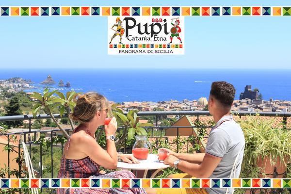 Pupi Catania Etna B&B - Panorama di Sicilia