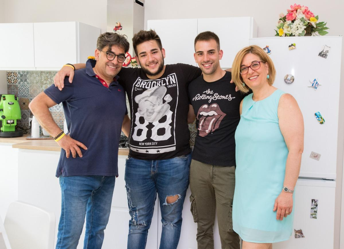Salvo, Daniela Christian ed Emanuele