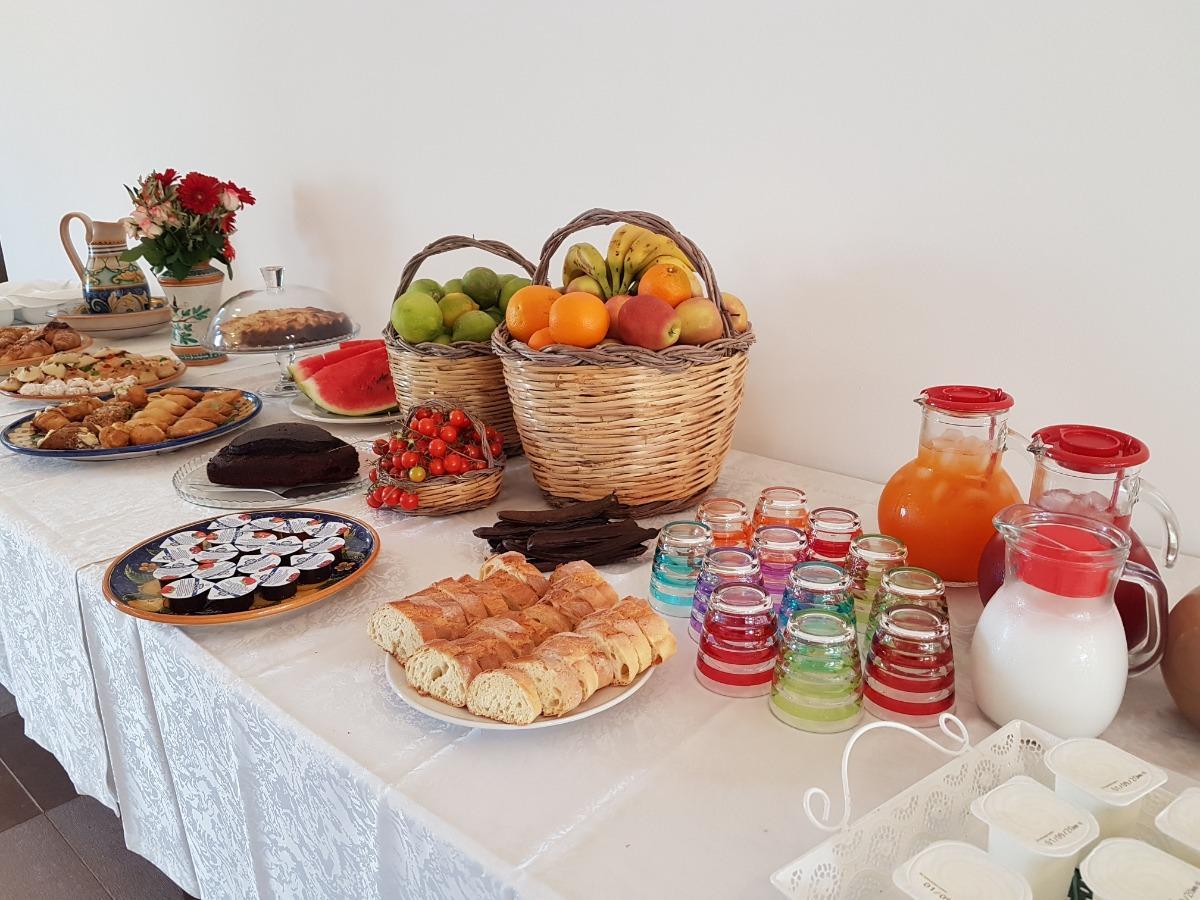 La colazione di MASSERIA VILLA MODICA