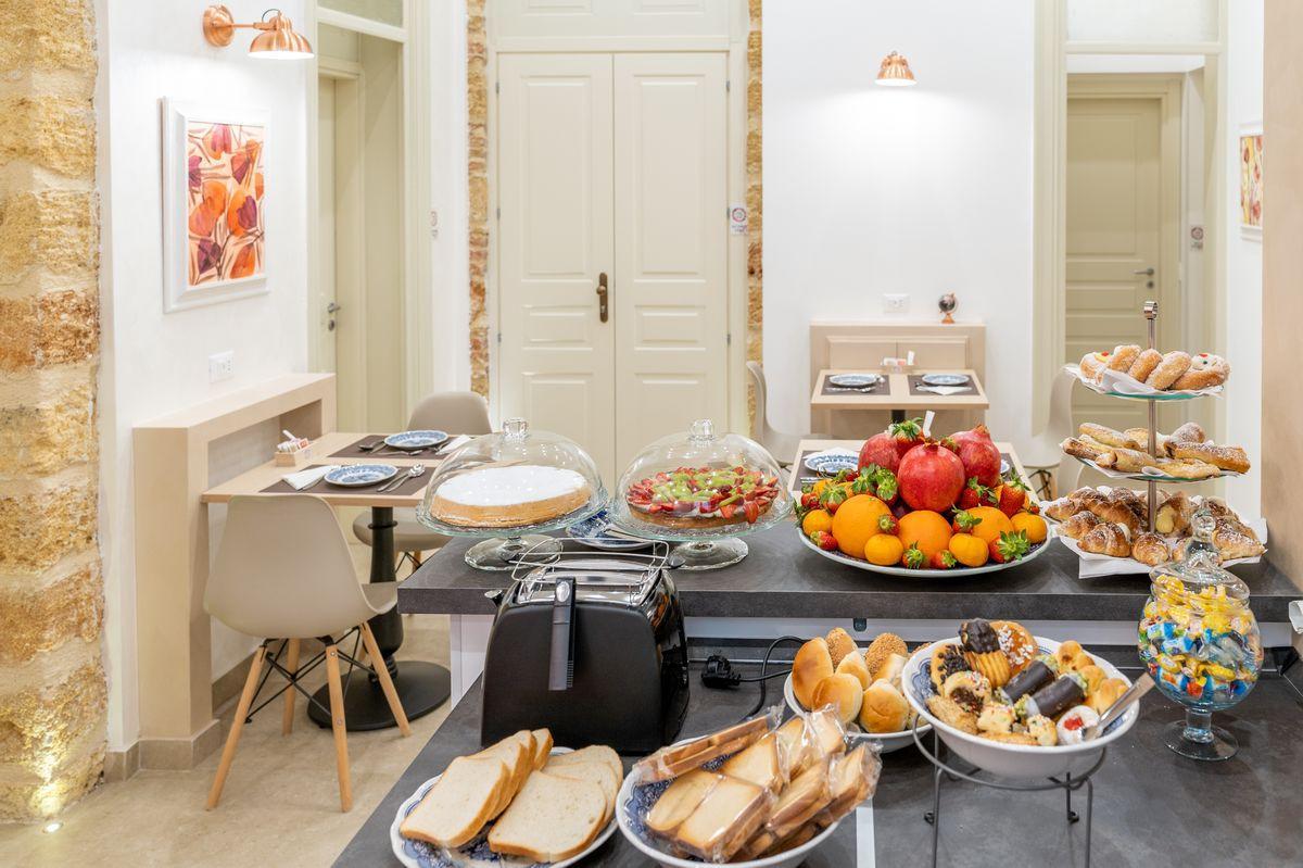La colazione di MAMA TITA ROOMS AND BREAKFAST
