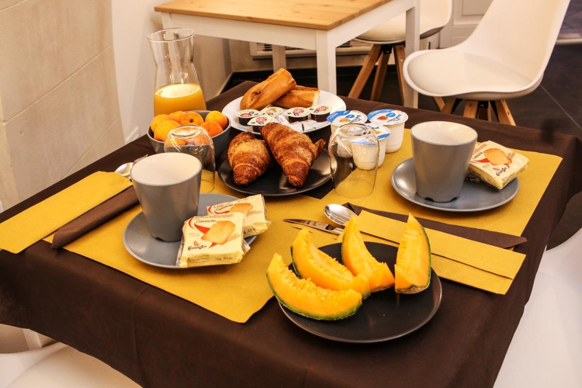 La colazione di TERRA DEL SOLE IBLA