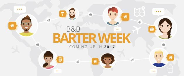 La Settimana del Baratto apre le porte al mondo e diventa Barter Week