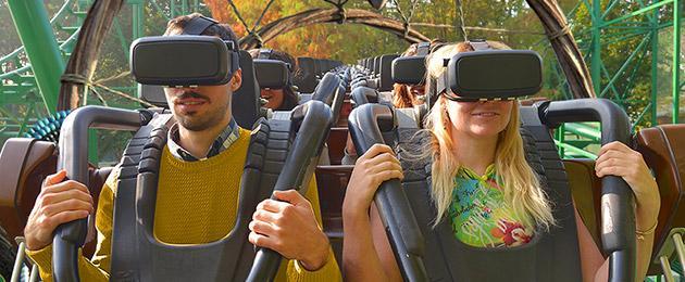 Gardaland: arriva Shaman, le nuove montagne russe con la realtà virtuale