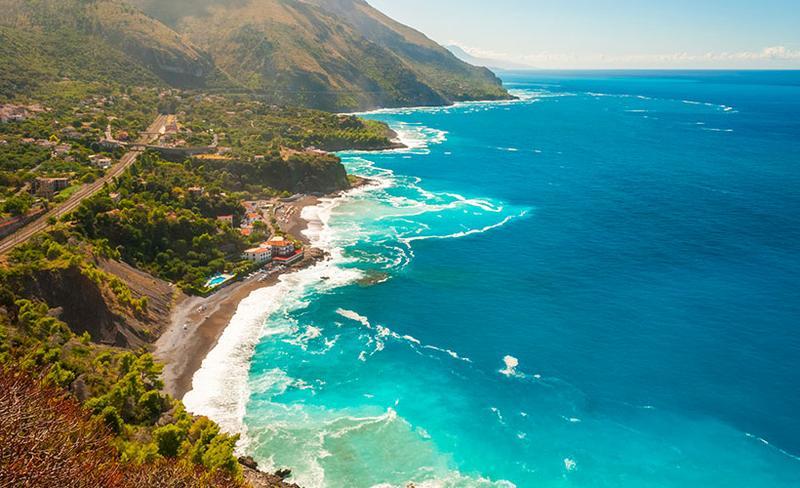 Maratea, panorama della costa
