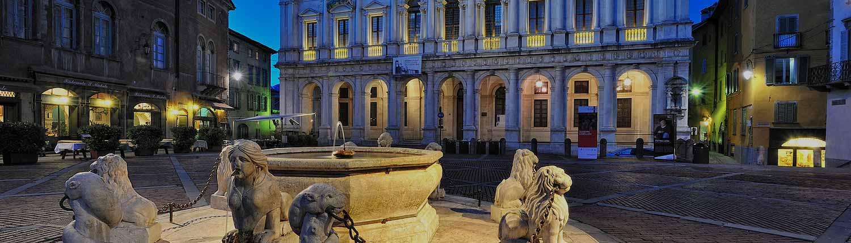Bergamo Alta - La Piazza