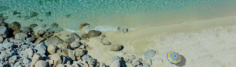 Tropea - Ombrellone sulla Spiaggia