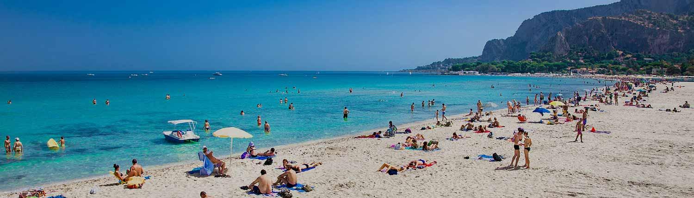 Mondello - La Spiaggia