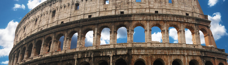 Roma - Il Colosseo al tramonto