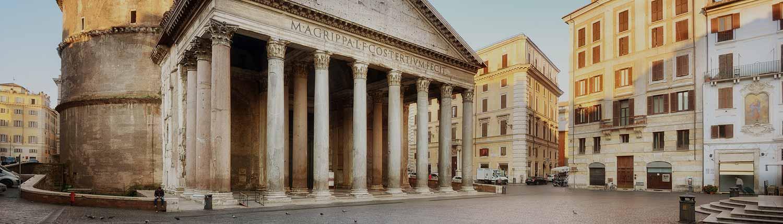 Roma - Piazza della Rotonda e Pantheon
