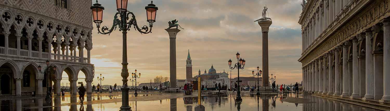 Venezia - Tramonto in Piazza San Marco