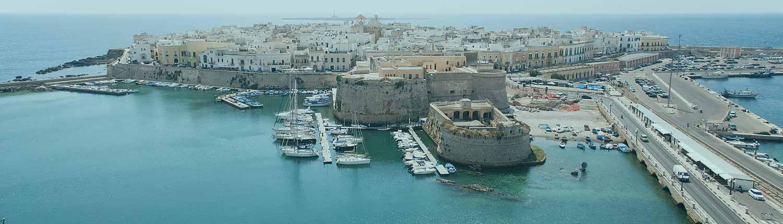 Gallipoli - Panorama aereo
