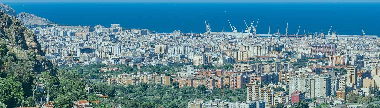 Palermo - Panorama da Monreale
