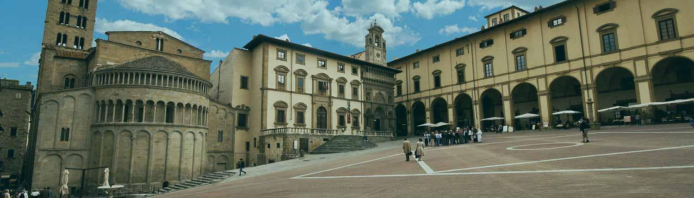 Arezzo - Piazza Vasari (Piazza Grande)