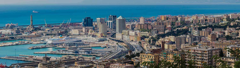 Genova - Panorama sul Porto