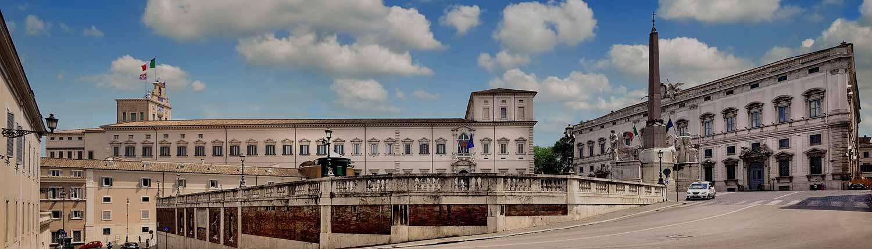 Quirinale - Palazzo del Quirinale e della Coniulta