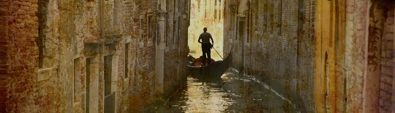 Venezia - Gondola e Gondoliere